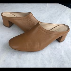 Everlane Day Mules In Camel Size 5.5